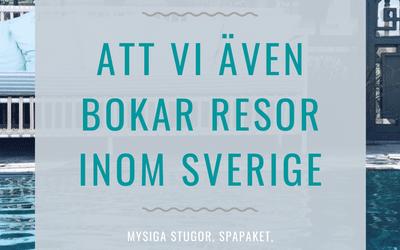 Upplev Sverige tillsammans med oss!